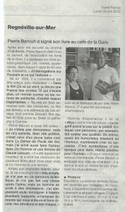 Ouest France 29 06 2015